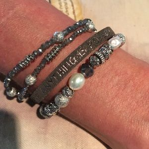Jewelry - Good Works Bracelet- Believe. Anything is Possible